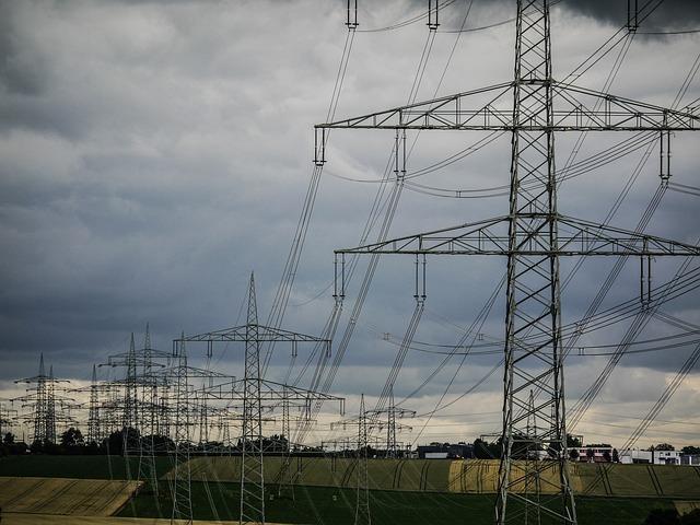 zataženo nad elektrárnou