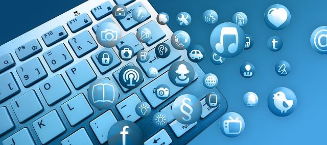 ikony nad klávesnicí