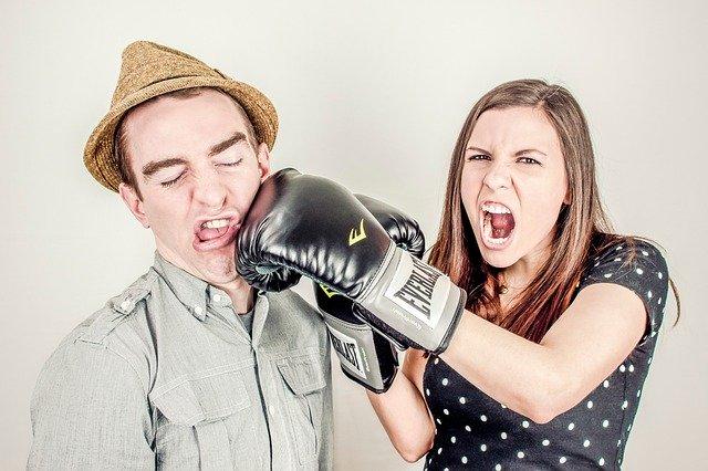 Konflikt mezi ženou a mužem